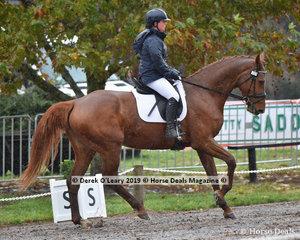 "Rebekah Italiano rode ""Manuka Mvnz"" in the EvA 95 Section A"