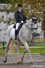 """Hannah Smith rode """"Kinnordy Gin Fizz"""" in the EvA 95 Section A"""