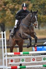 "Fleur Timmins in the EvA 80 Section B riding ""De Lago Warrior"""