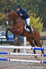 """Natalie Davies rode """"Jaybee Balagio"""" in the EvA 80 Section A"""