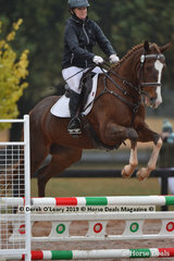"""Suzie Cranage in the EvA 80 Section C riding """"Everybody Loves Billie"""""""
