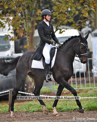"""""""Tulara Diarangol"""" ridden by Isabel Houghton in the CCI3*-S Dressage Phase"""