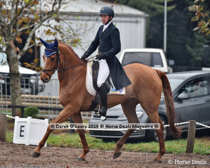 """Simon Tainsh in the CCI3*-S Dressage phase riding """"Remi Lord Of The Reaml """""""
