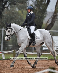 """""""Chunk E """" in the CCN1*-SA Dressage Phase ridden by Natalie Davies"""