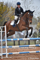 """Erin Callahan in the EvA 95 Section A combined training riding """"Viennese"""""""