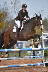 """Shannon Walker in the EvA 95 Section A riding """"Ride Around Sally"""""""