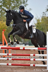 """Robert Palm rode """"Bellatrix"""" in the EvA 95 Section A placing 9th in the Combined training"""
