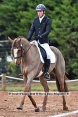 """""""Mount Anakie Crescendo"""" in the CCI2*-SA Dressage Phase ridden by Daniel Dragt"""