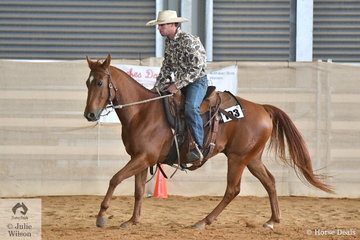 Jackson Mitchell rode Docs Instant Playboy in the Amateur Ranch Riding class.