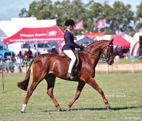 Georgia Currall was sashed Reserve Champion Rider 12-17yrs.
