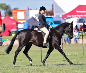 Jade Dwyer won the Open Girl Rider 15-17yrs class.