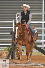Danny Kopa and Proud Lil Merdoc produced a good run in the Open Junior Horse Trail. This combination went on to win this class and take out the The Ranchman Open High Point award.