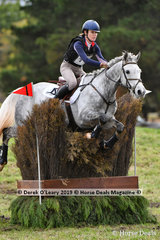 "Erin Callahan placed 3rd in the CCI2*-S Div 2 riding ""DANSON LINCOLN""."