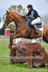 "Georgina Birrell rode ""MARLBOROUGH VIEW"" in the CCI3*-S."