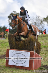 "Isabel O'Loughlin placed 3rd in the CCI3*-S.riding ""LAGOES CHOICE"" with a final score of 56.30"