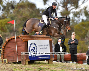 "Florence Goodwin in the CCI4*-S riding ""KENDALEE QUANTUM LEAP"""