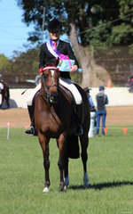 Charlee Anthony  was awarded Supreme Rider of the 2019 Grafton SHow