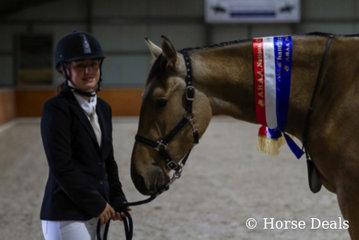 Erin May & Brin Atrasardo. Champion Junior Partbred Gelding
