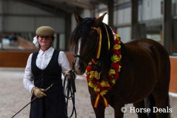Melanie Griffiths & Adriels Rainerio- National Champion Spanish Gelding