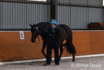 Sarah Jervis & Alegria Hermosa. National Champion Led Spanish Female