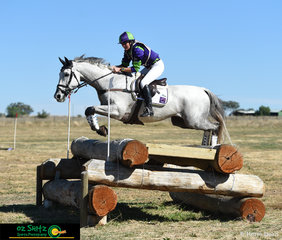 Lauren Browne and Skys Da Limit made a great combination in the 4 Star competition at the Tamworth International One Day Event.