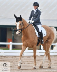 Melissa Ellis is pictured aboard , 'Byalee Bravo' during the Medium 4A test.