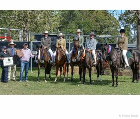 Winner and places of the 3yr old Futurity