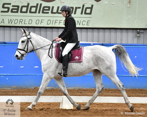 Sarah Marshall rode Starscream to fifth place place in the SPPHAV Novice State Dressage Championship.