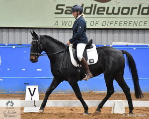 Brodi Leversha riding her BL Remington rode two good tests to take out the Open SPPHAV Dressage State Championship.