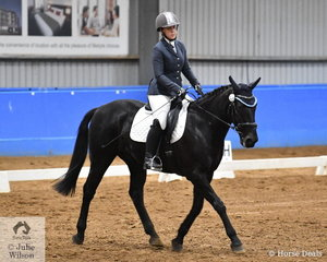 Kelly Stuart-Mitchell rode her well performed harness racer and ridden horse, Gowan Brae to third place in the EA 1A Open SPPHAV State Dressage Championship.