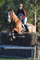 "Jo Murphy placed 5th in the CCN1*-S Section A riding ""Koolaroo Brilliant Invasion"""