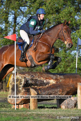"""Catherine Davies placed 2nd in the CCN1*-S Section A riding """"Graftango"""" with a final score of 35.5"""