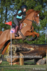 """Stacey Briggs placed 4th in the CCN1*-S Section A riding """"Marengo Valentino"""" with a final score of 41.2"""
