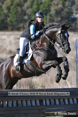 "Winner of the EvA80 Section A Tamara Campain riding ""Aurum Walter"" with a final winning score of 25.5"