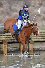 "Winner of the EvA95 Section B Clara Galvin riding ""Royal Star Cha Cha"" finishing on a score of 29.50"