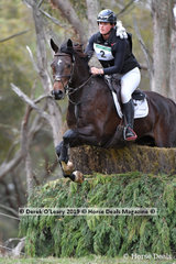 "Isobel Houghton rode ""Tulara Diarangol"" in the CCN3*-S placing 9th with a final score of 57.50"