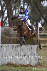 """Buckwell Park Archer"" ridden by Genevieve Nicholson in the CCN3*-S"