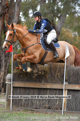 """Georgina Birrell rode """"Marlborough View"""" to place 7th in the CCN3*-S with a final score of 55.4"""