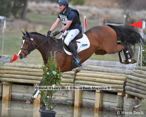 """Andrew Cooper placed 2nd in the CCN3*-S riding """"Riverbreeze"""" with a final score of 34.20"""