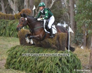 "Jenny Bowker rode ""BMS Alexeah"" in the CCN2*-S Section A placing 9th with a final score of 58.10"