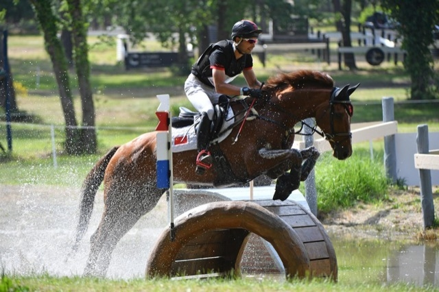 Two-time Olympian Alex Hua Tian rode Don Geniro to second place at the special Olympic qualifier held in Saumur (FRA) over the weekend to help secure China's first-ever Olympic team qualification in Eventing. (Copyright: Ouest Image)
