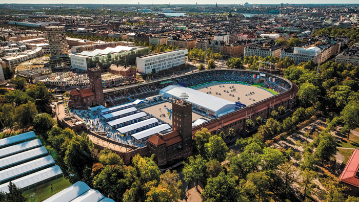 Image: The layout for the 2019 LGCT Stockholm event