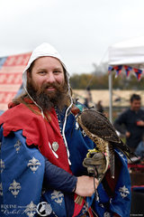 Flight birds of prey presented the Peregrine falcon.  The fastest animal in the world reaching 389 kilometres in speed.