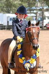Mini Childs Pony Champion 'Diamonds Of Tuscany' exhibited by Chalmers Family