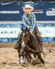 Mark Hinman and 'Tanami Katt' in the final of the Non Pro Gold Cup