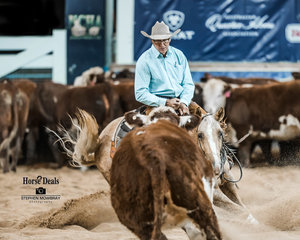 Phil Cnaghan and 'Suicide Blonde' mark 221pts for second place in the Destination NSW Non Pro Pinnacle