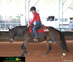 Competing in the Beginner Horse Non Pro was a new combination made up of Isobel Hughes and Wimp It Up A Notch.