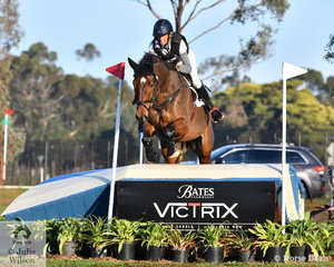 Carlene Barton from NSW held on to second place in the Off The Track CCI2*-L posting a clear cross country run riding her APH Rocardo gelding, 'Henrik APH
