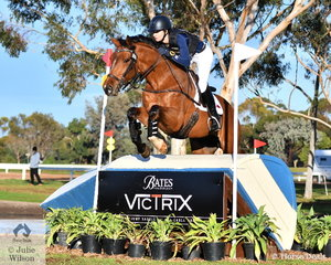 More points for APH Rocardo with Carlene Barton riding her gelding , 'APH Andre' to post a clear Off The Track CCI2*-L cross country run to hold fifth place heading in to the final jumping phase tomorrow.