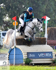Claire McDermott jumped a super round in the Off The track CCI2*-L  with the addition of 1.6 time penalties riding her diminutive Warmblood/Arab Pony cross, 'Diablo Descarado'.